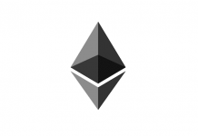 Il logo di Ethereum, la criptovaluta degli smart contracts