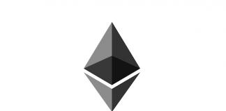 Il logo di Ethereum, la criptovaluta degli smart contracts