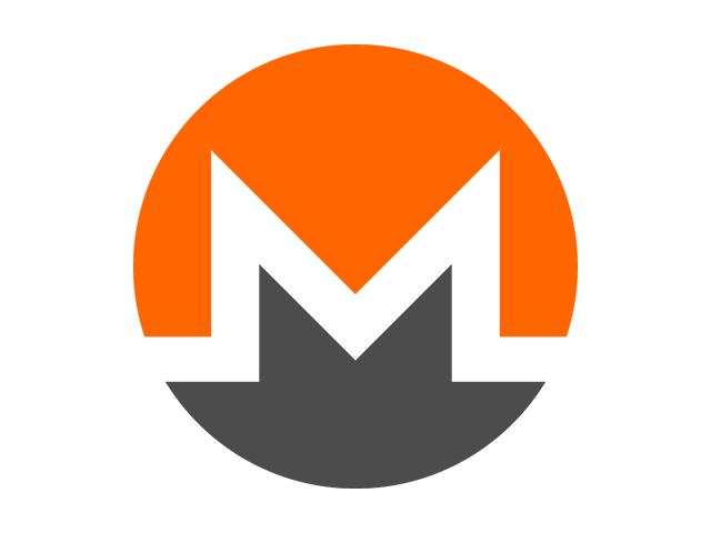 Il logo della criptovaluta monero, che si può acquistare o si può negoziare con il trading online