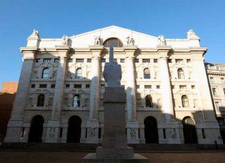 Palazzo Mezzanotte, sede fisica di Borsa Italiana, a Milano