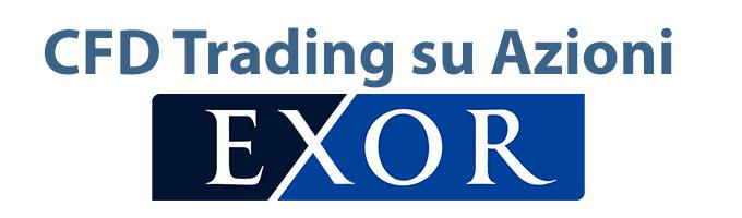 Informazioni per fare trading online su azioni Exor con CFD e per acquistare titoli in modo tradizionale