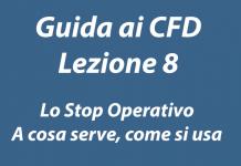 A cosa serve e come si usa lo stop operativo nel trading CFD e sulla piattaforma Plus500
