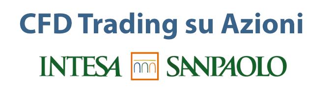 Trading CFD su azioni Sanpaolo, confrontato all'acquisto di titoli tradizionale