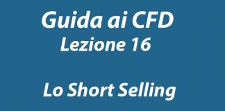 Cosa è e come funziona lo Short Selling nel trading online di CFD