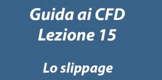 Cosa è lo slippage nel trading online con i CFD