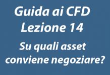 Su quali asset conviene negoziare nel trading CFD?