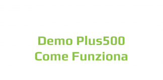 Come funziona la demo di Plus500