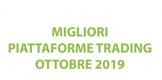Classifica delle migliori piattaforme di trading ottobre 2019