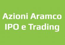 IPO Azioni Aramco come fare trading