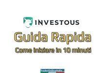 Guida Investous per iniziare a fare trading in 10 minuti
