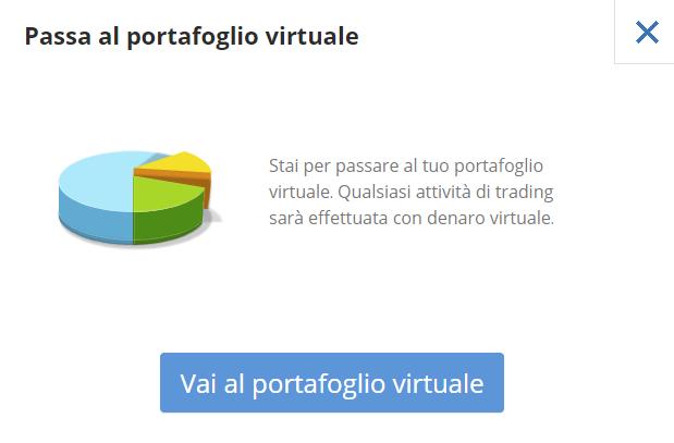 Come passare al portafoglio virtuale etoro