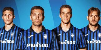 Il nuovo sponsor dell'Atalanta Plus500